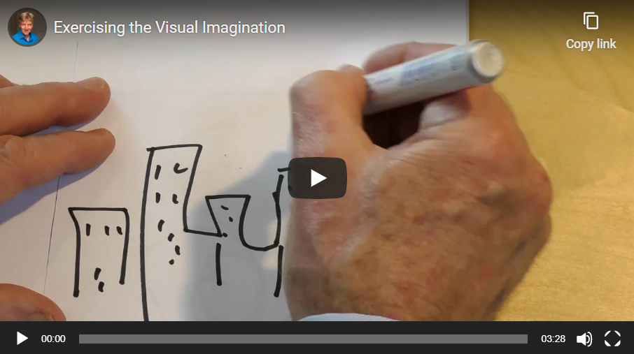 Exercising your Visual Imagination